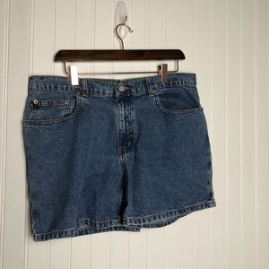 "Polo Ralph Lauren vintage 5"" Saturday jean shorts"